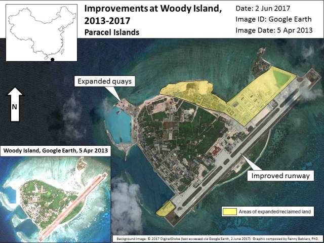Woody Island Improvement Overview